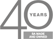 40 Years SA Made and Owned