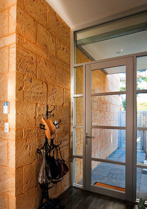 HINGED DOORS OFFER TRANSPARENCY AND SECURITY
